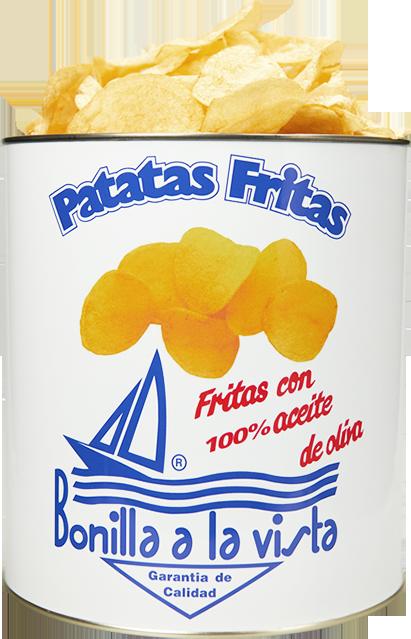 Lata de patatas Bonilla